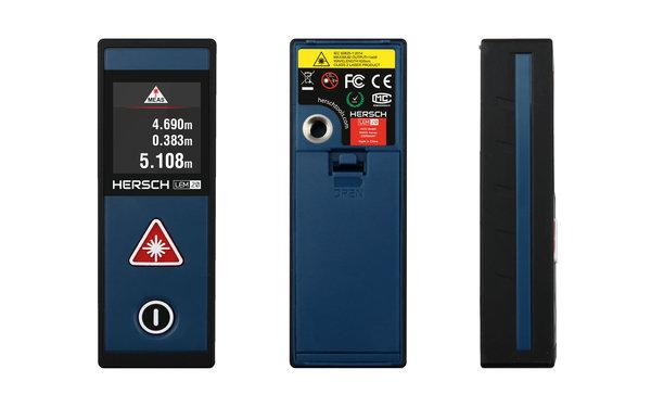 Entfernungsmesser Für Räume : Hersch laser entfernungsmesser lem 20 mit neigungssensor und