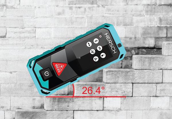 Laser Entfernungsmesser Mit Akku : Hersch laser entfernungsmesser lem 50 mit bluetooth ip65 und ni mh