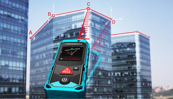 Entfernungsmesser Mit Zielsucher : Hersch laser entfernungsmesser lem 200 mit digitaler kamera