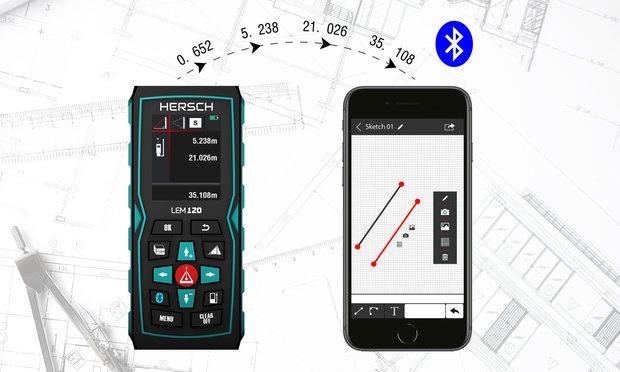 Laser Entfernungsmesser Mit Kompass : Hersch laser entfernungsmesser lem 120 shop
